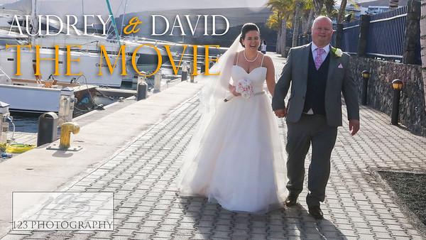 Audrey and David's Lanzarote wedding photography