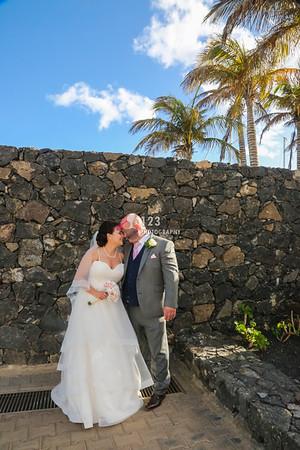 Audrey and David's Lanzarote Wedding Photography, Amura Puerto Calero
