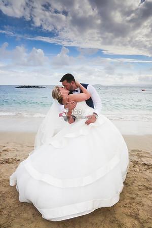Kate and Scott's Lanzarote wedding Princess Yaiza