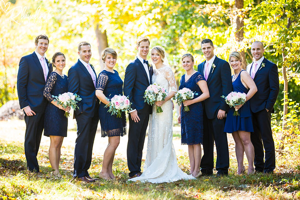Lara & Wade: Bridal Party