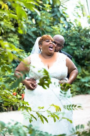 Latonya and Ronald Francis Wedding