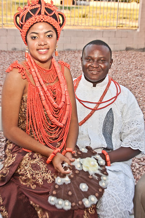 Laura & Osagie_Traditional