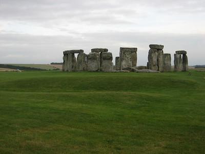 Stonehenge, which we passed on the way to Devon