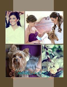 Lauren wedding album layout 007 (Side 13)