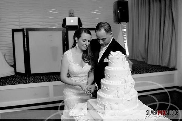 Cake Cutting Tony + Lauren