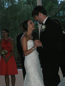Lauren and Ian's first dance as a married couple.