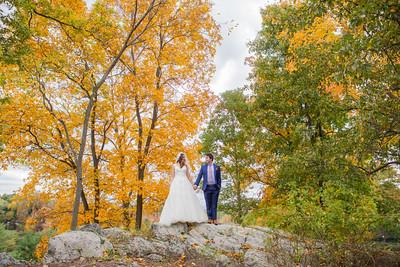 lauren & mike wedding day