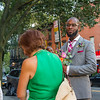 """New York - August 19th, 2016. Laurie & Kenyatta's Wedding at City Hall and Alma Restaurant in Brooklyn.  <a href=""""http://www.naskaras.com"""">http://www.naskaras.com</a>"""