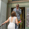 "New York - August 19th, 2016. Laurie & Kenyatta's Wedding at City Hall and Alma Restaurant in Brooklyn.  <a href=""http://www.naskaras.com"">http://www.naskaras.com</a>"