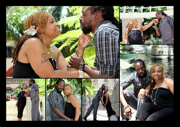 Lavern  and Cleos's Engagement graphics