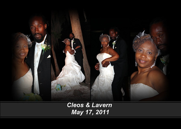 Lavern and Cleos Wedding Graphics