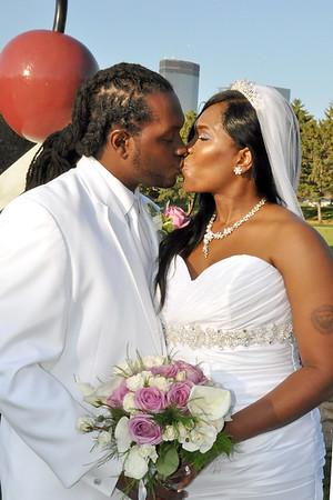 Laweh And Mark Wedding