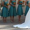 Bridesmaids dresses.