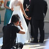 Wedding photographer Tony Chu in action.