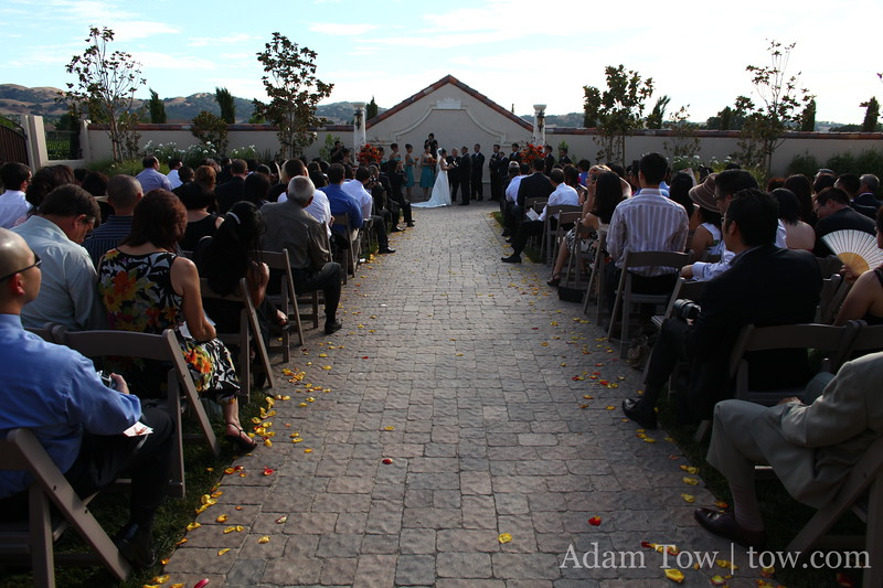 Lee and John were married at Casa Real in Pleasanton.