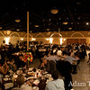 Panorama of the wedding banquet.
