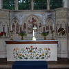 The Alter at St. Mary's Church, Worlingworth, Suffolk, England