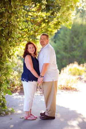 Leigh + BJ :: Engagement :: JC Raulston Arboretum (Raleigh Wedding Photography, AO&JO Photography)
