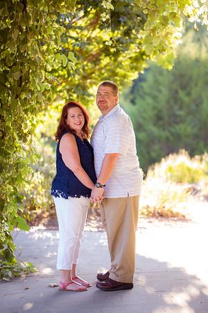 Leigh + BJ :: Engagement :: JC Raulston Arboretum (Raleigh Wedding Photography, AO&JO Photography)