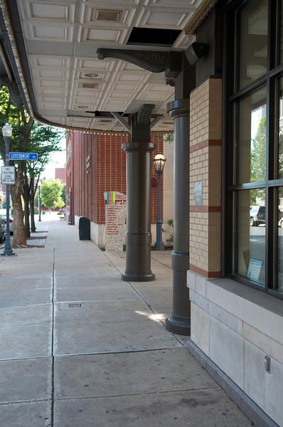 Community Arts Center across the street from the Bullfrog on 4th Street.