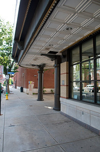 Community Arts Center across the street from the Bullfrog on 4th Street. The lobby is really awesome - perhaps the building will be open on Saturday.