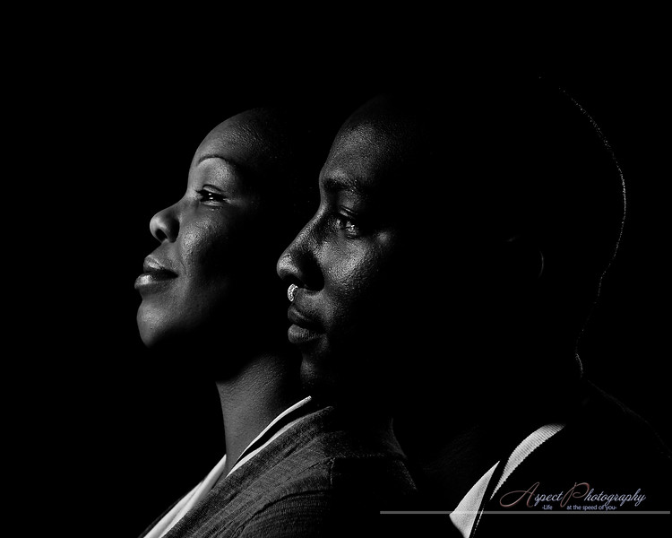 Leslie & De'Andre engagement session