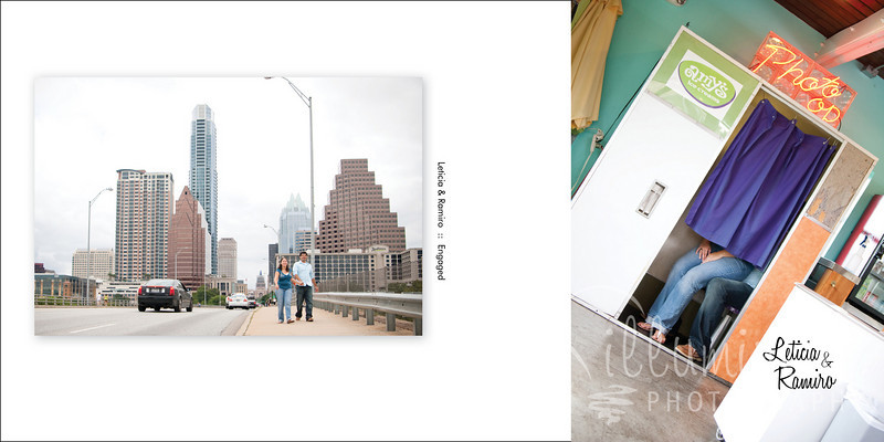 Leticia & Ramiro Engagement Book cover01