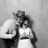 Kim and Paul Photo Booth BW-0105