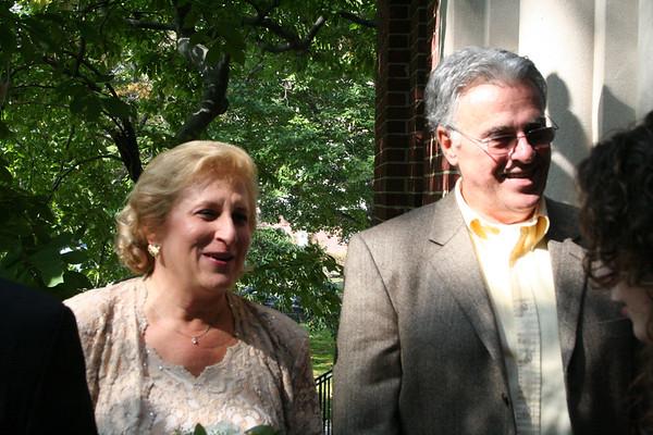 Linda & John: Receiving Line