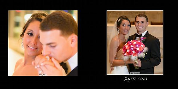 Lindsay and Antonio 10x10 Heirloom Wedding Album 001 (Sides 1-2)
