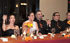 Lindsay's maid of honor, Paula Enochs and Bryan's best man, Michael Bugarini.