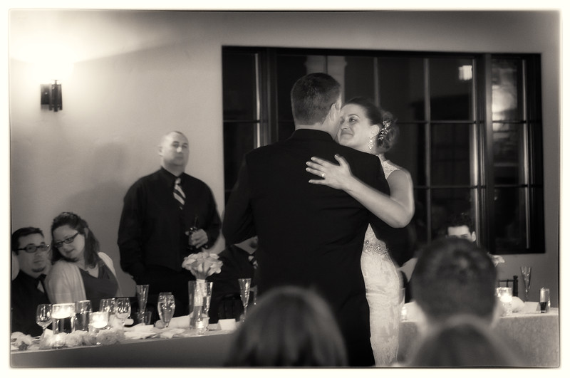 Lindsay & Bryan's first dance as a married couple.