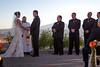 Father Patrick Bellomi marries Lindsay & Bryan Clark. Best man, Michael Bugarini and Groomsmen.