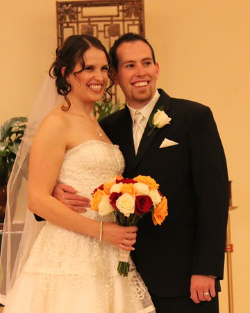 Lindsay and Stephen Wedding