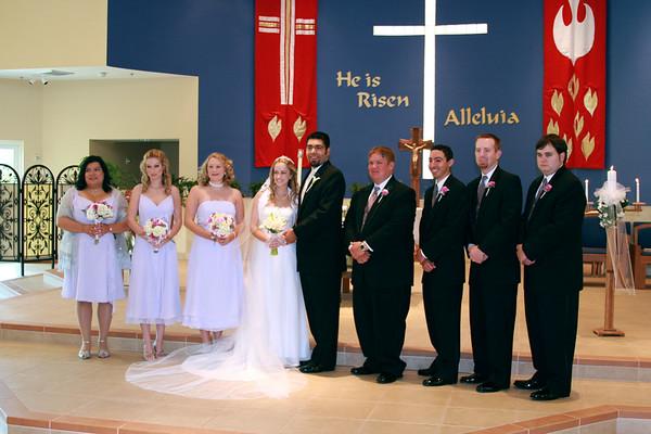Lindsey and Mario Wedding Day