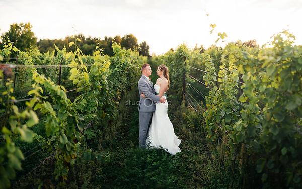 lindsey + dave | wedding | black star farms, sutton's bay