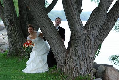Lindsey and William - Canandaigua, NY. Copyright © 2008 Alex Emes
