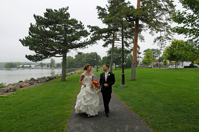 Lindsey and William - Canandaigua, NY. Copyright © 2008 Alex Emes