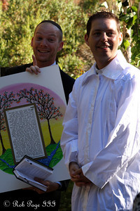 Gabe and the Rabbi - Cupertino, CA ... August 15, 2010 ... Photo by Rob Page III