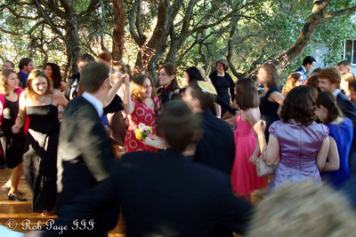Enjoying the reception - Cupertino, CA ... August 15, 2010 ... Photo by Rob Page III