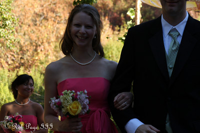 Emily, the happy bridesmaid - Cupertino, CA ... August 15, 2010 ... Photo by Rob Page III