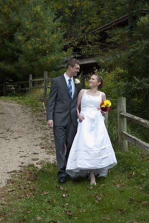 Lisa & Brad's wedding