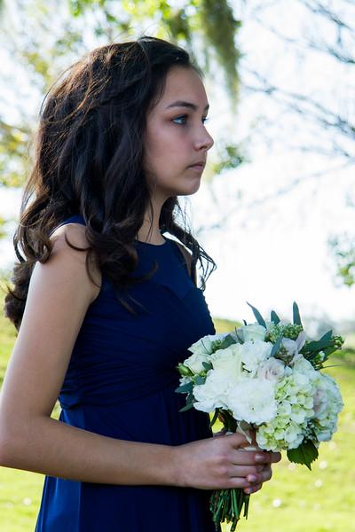 Laney, the junior bridesmaid