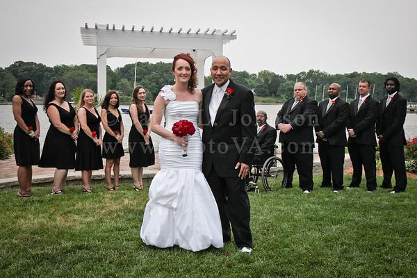Newport News Wedding Photography - Deep Creek Marina