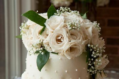 Lisa & Justin Wedding Cake