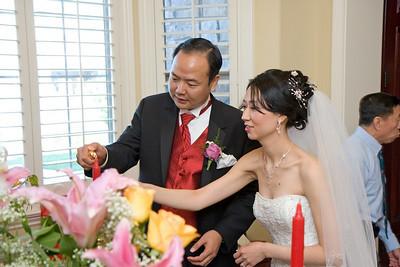 Tea Ceremoy at Bride's House