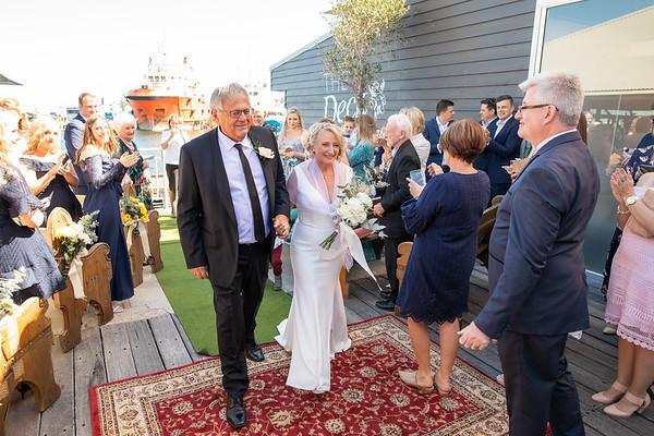 Alison + Ross' Wedding