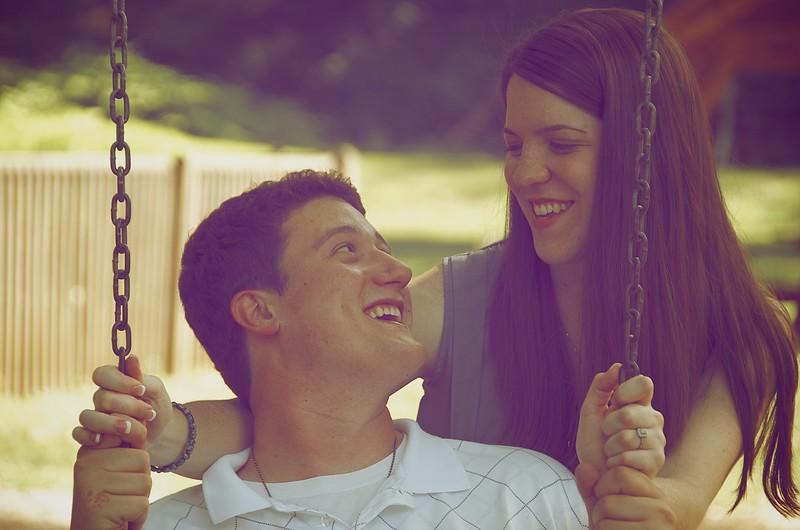 Liz and Andrew