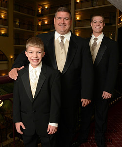 Rick with sons Nathan and Ben