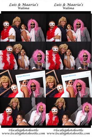 Luis & Maaria's Wedding Photo Strips